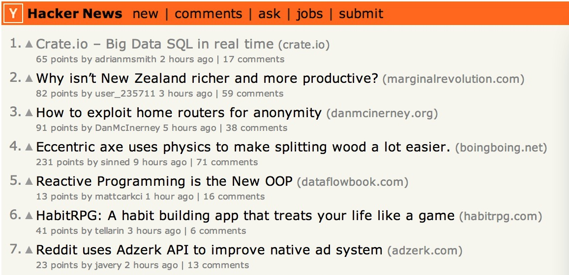 Crate on Hacker News #1