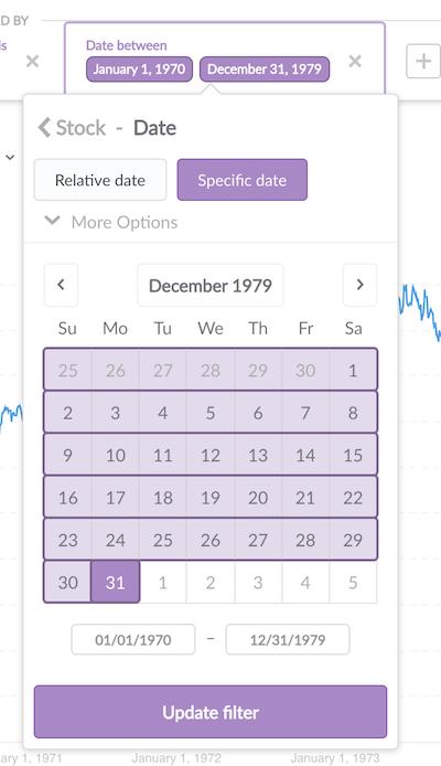 Filter Date Range