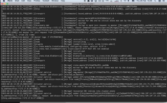 Featured Image CrateDB using Docker Swarm