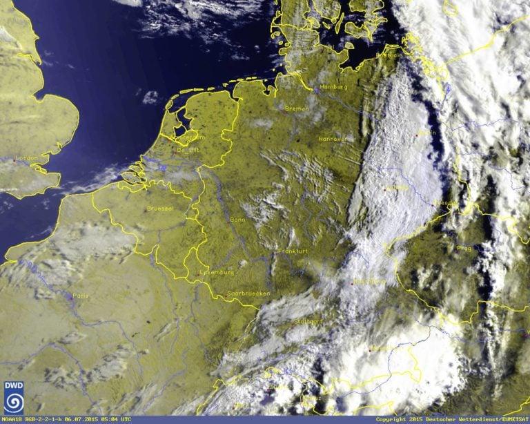 Satellite picture of german weather © Aussenwirtschaft Austria - WKO
