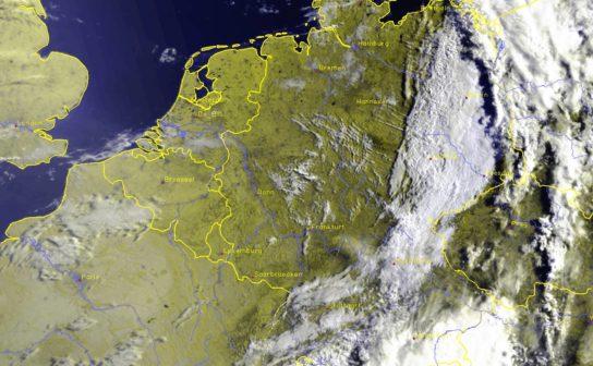 Weather Satellite Image (c) DWD
