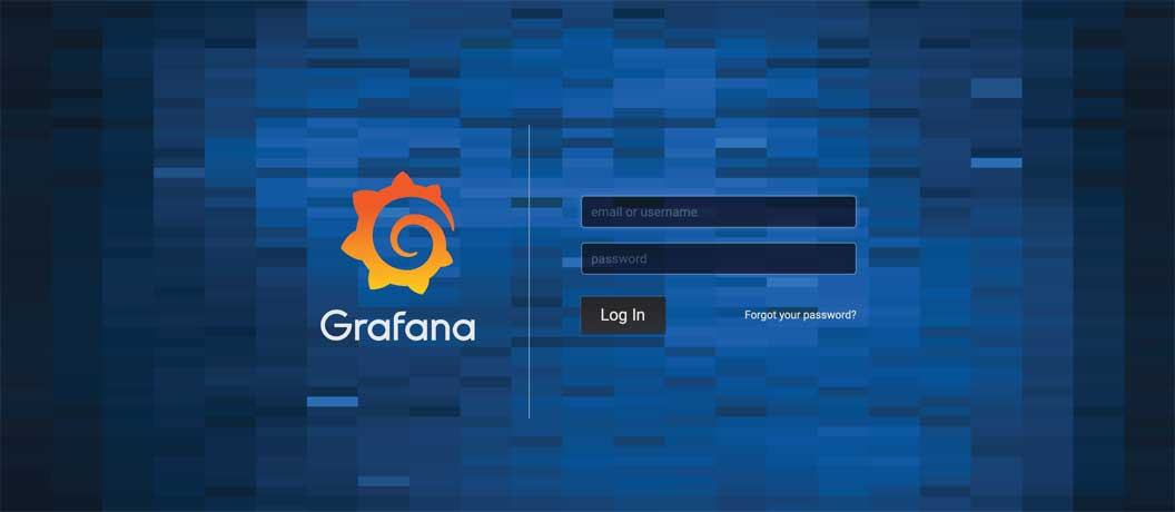 Getting started with CrateDB and Grafana: Grafana Login Screen