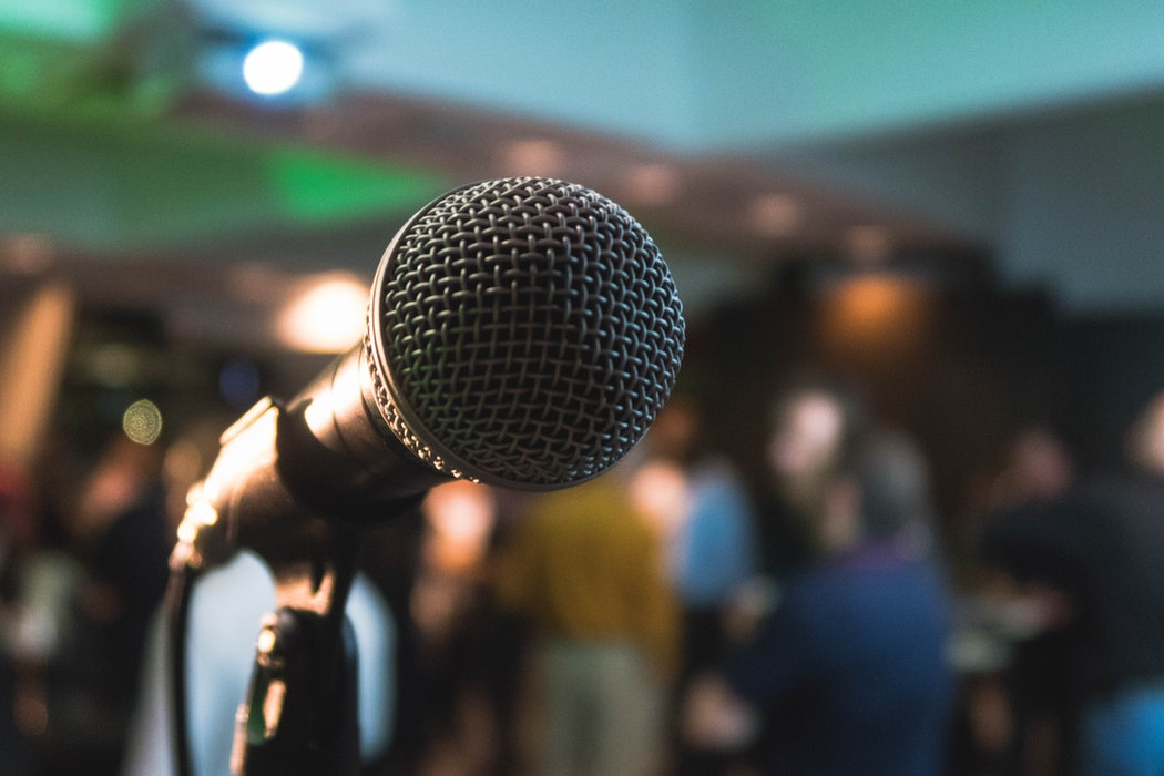Featured Image RubyCon Philippines showing a Microphone. Photo by Kane Reinholdtsen on Unsplash