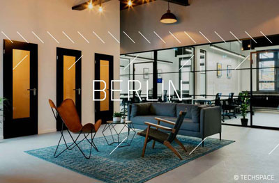 Crate.io Office in Berlin, Techspace Kreuzberg ©Techspace Property Group Ltd.