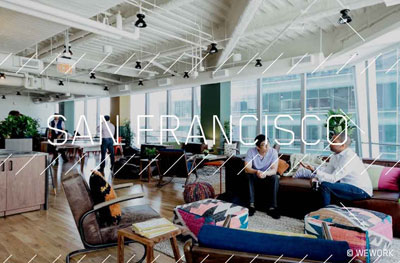 Crate.io Office in San Franciso, 535 Mission St ©WeWork Companies Inc.