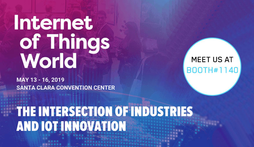 Announcement IoT World 2019: Meet Crate.io at the Internet of Things World
