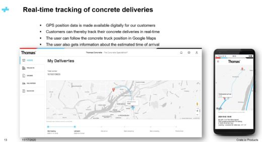 How real-time IoT data can optimize the supply chain with the Thomas Concrete Group