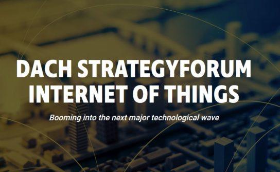 DACH Strategyforum Internet of Things