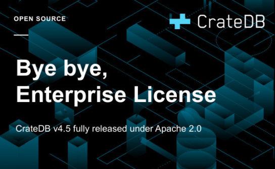 Bye bye, Enterprise License
