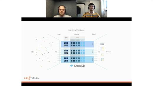 Webinar n8n and CrateDB