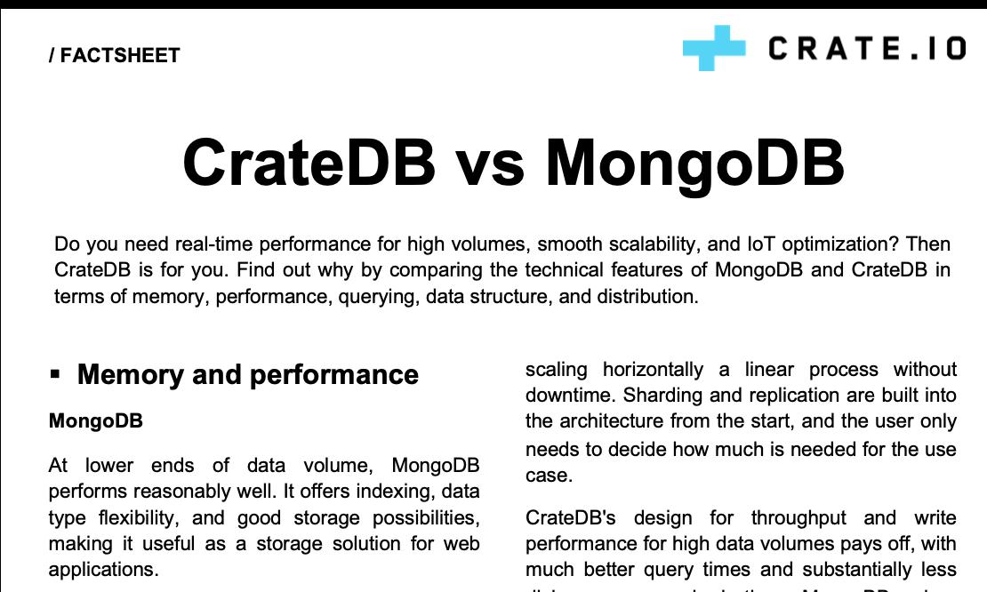 MongoDB Migration